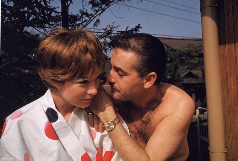 Shirley MacLaine z mężem - producentem filmowym Steve''em Parkerem /Gene Lester /Getty Images