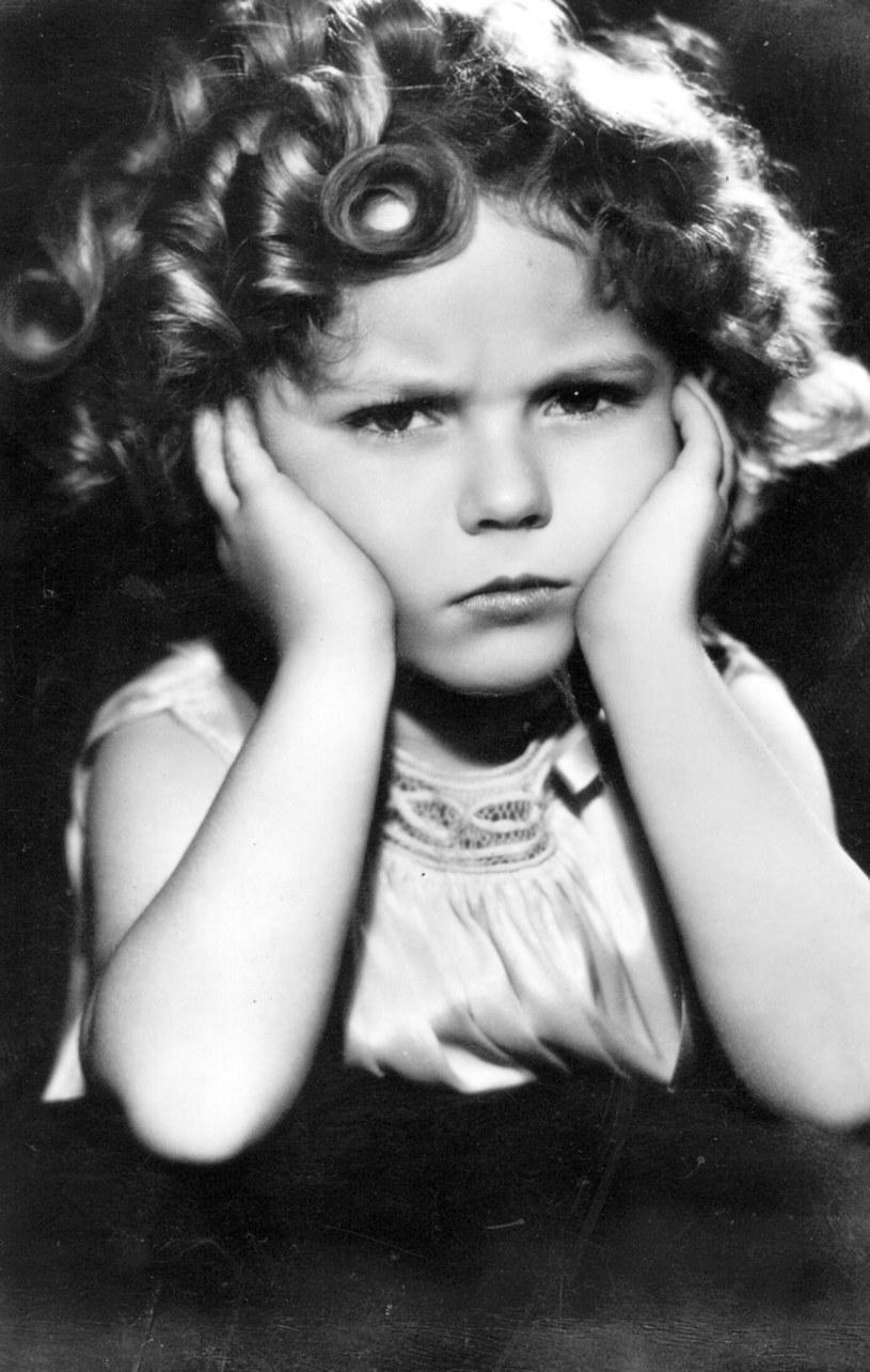 Shirley Temple była świetna na planie - potrafiła zagrać zarówno radość, jak i smutek czy gniew /Hulton Archive /Getty Images