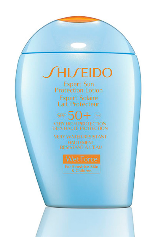 SHISEIDO Expert Sun Protector Lotion Wetforce 50+ /materiały prasowe