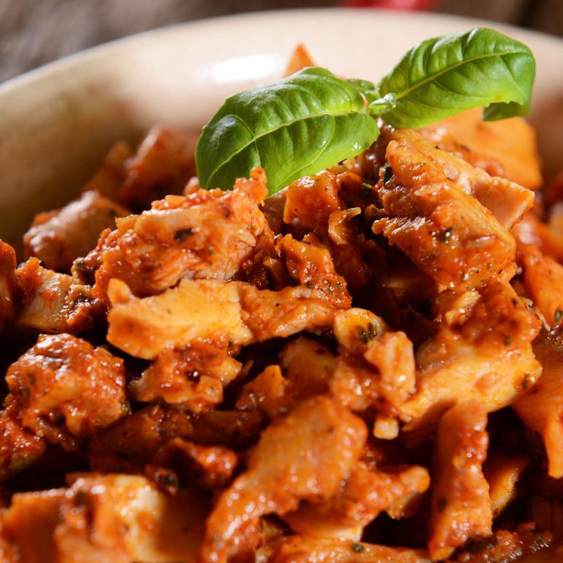 Shoarma z kurczaka z papryką /123RF/PICSEL