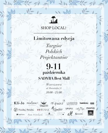 Shop Local! odbędzie się w Sadyba Best Mall w Warszawie /materiały prasowe