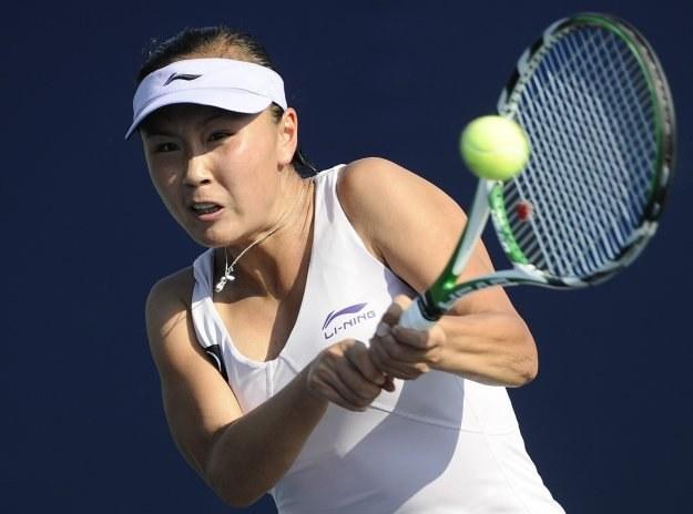 Shuai Peng w 2. rundzie pokonała Agnieszkę Radwańską /AFP