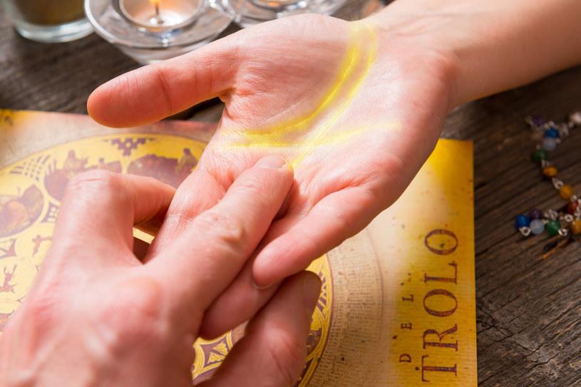 Siatka linii na dłoniach jest kwestią indywidualną i jest inna u każdego człowieka /123RF/PICSEL