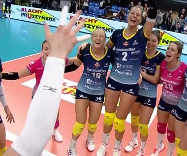 Siatkarki Developresu wygrały mecz o Superpuchar Polski. WIDEO (Polsat Sport)