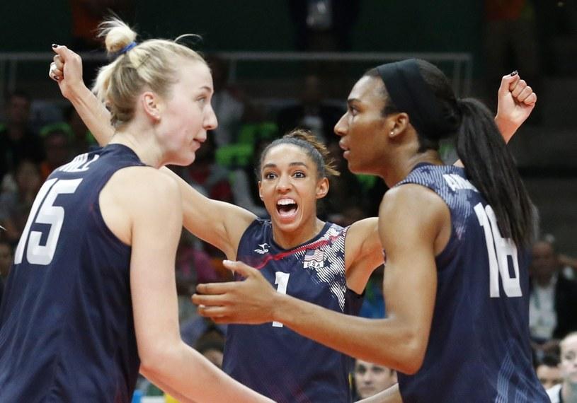 Siatkarki USA zdobyła brązowy medal IO w Rio /PAP/EPA