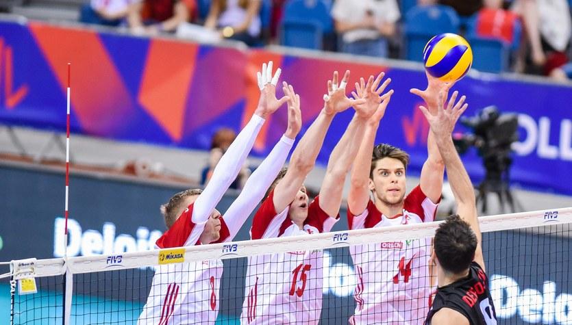 Siatkarska Liga Narodów. Polska - Kanada 3:1