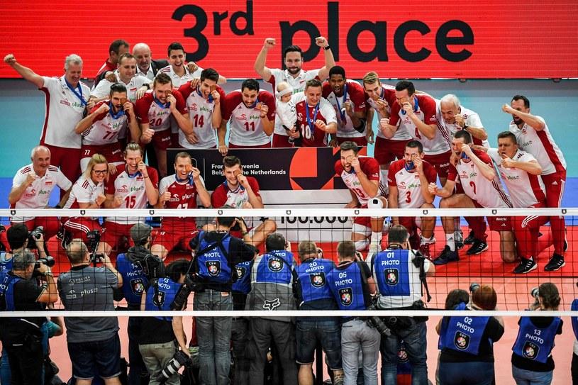 Siatkarska reprezentacja Polski /AFP