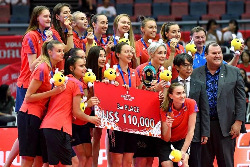 Siatkarska reprezentacja Rosji kobiet /AFP