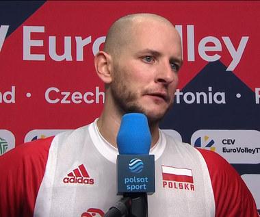Siatkarskie ME. Bartosz Kurek po meczu Polska - Serbia. WIDEO (Polsat Sport)