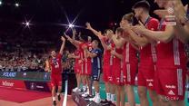 """Siatkarskie ME. Polacy odebrali brązowe medale! ZOBACZ ceremonię wręczenia medali """"Biało-Czerwonym"""". WIDEO (Polsat Sport)"""