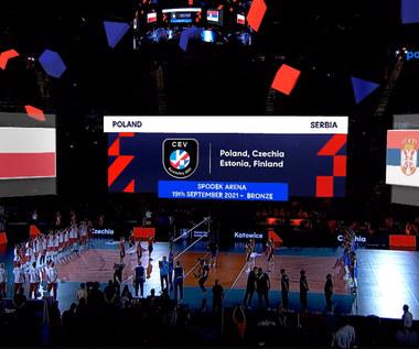 Siatkarskie ME. Polska - Serbia - SKRÓT. WIDEO (Polsat Sport)