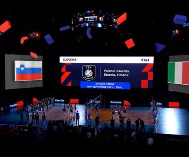 Siatkarskie ME. Słowenia - Włochy 2:3 - SKRÓT. WIDEO (Polsat Sport)