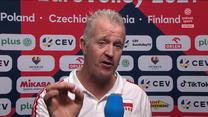 Siatkarskie ME. Vital Heynen po meczu Polska - Serbia. WIDEO (Polsat Sport)