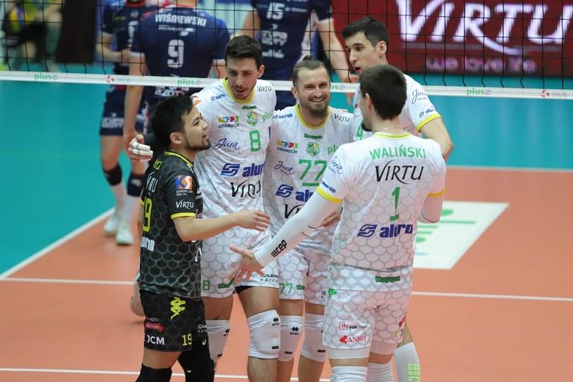 Siatkarze Aluronu /Tomasz Kudala /East News