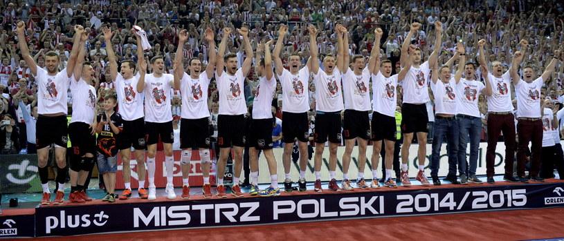 Siatkarze Asseco Resovii zostali mistrzami Polski /Darek Delmanowicz /PAP