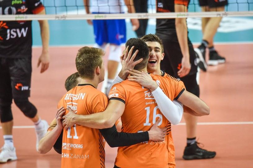 Siatkarze Cuprum Lubin /Fot. Piotr Dziurman/REPORTER /East News