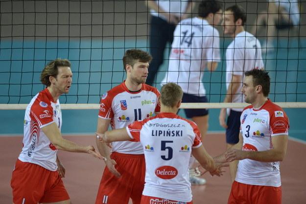 Siatkarze Delecty Bydgoszcz /Tytus Żmijewski /PAP