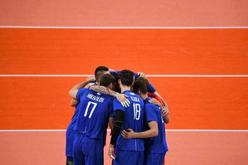 Siatkarze ekipy Rosyjskiego Komitetu Olimpijskiego /Yuri Cortez /East News