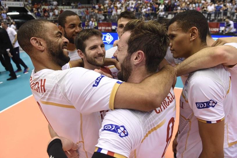 Siatkarze Francji świętują awans do mistrzostw świata /www.cev.eu