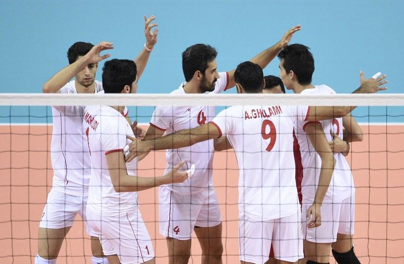 Siatkarze Iranu są grupowymi rywalami Polaków w przyszłorocznej Lidze Światowej /AFP