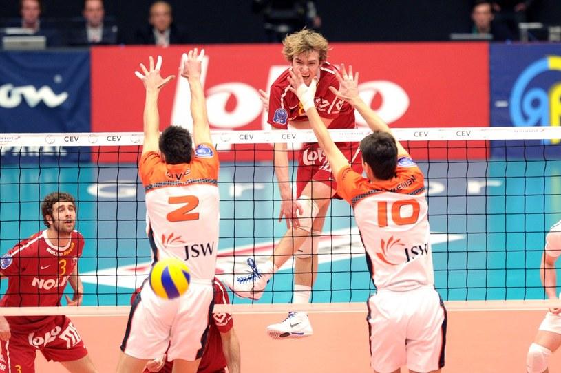 Siatkarze Jastrzębskiego Węgla grali już w turnieju finałowym /AFP
