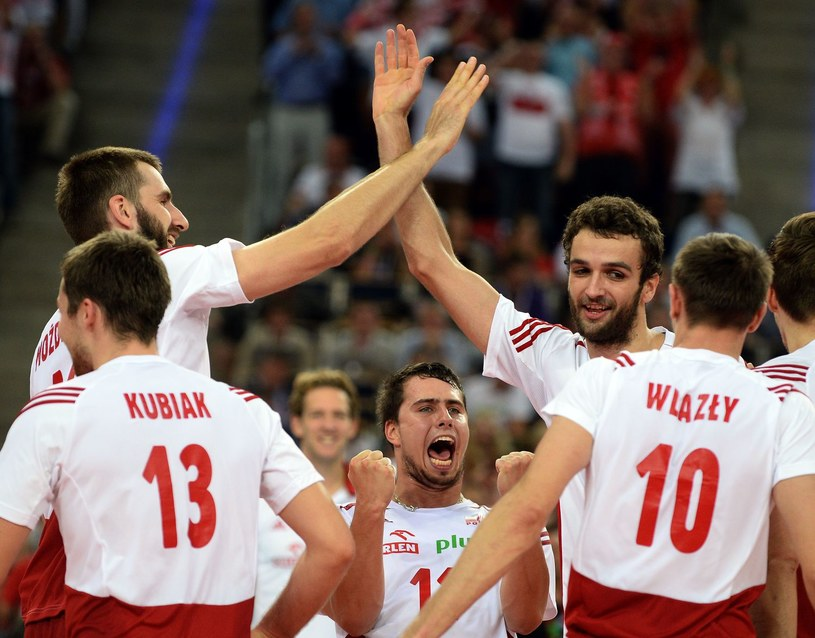 Siatkarze reprezentacji Polski /AFP