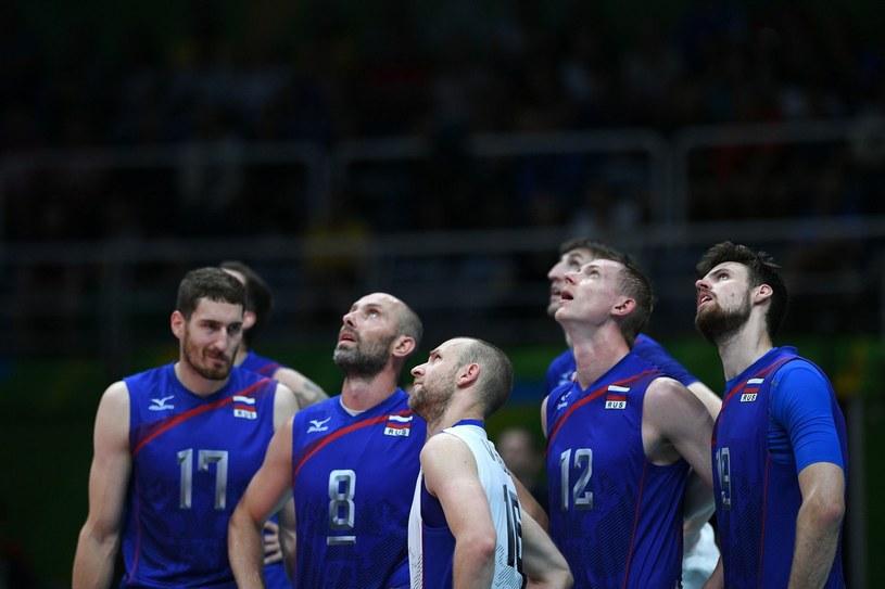Siatkarze reprezentacji Rosji /AFP