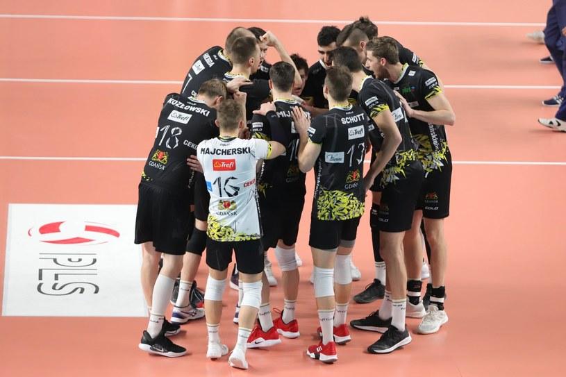 Siatkarze Trefla Gdańsk /Tomasz Kudala /East News