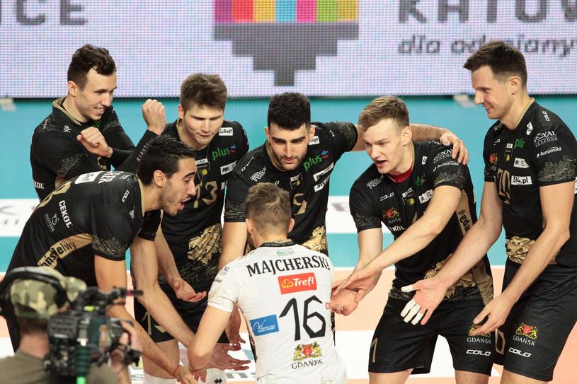 Siatkarze Trefla Gdańsk /Fot. Tomasz Kudala/REPORTER /East News