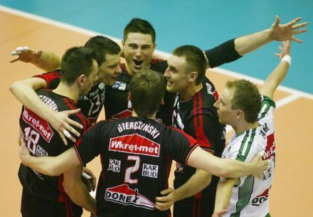 Siatkarze z Częstochowy zrewanżowali się ekipie z Jastrzębia /Darek Hermiesz/SPORT-FOTO