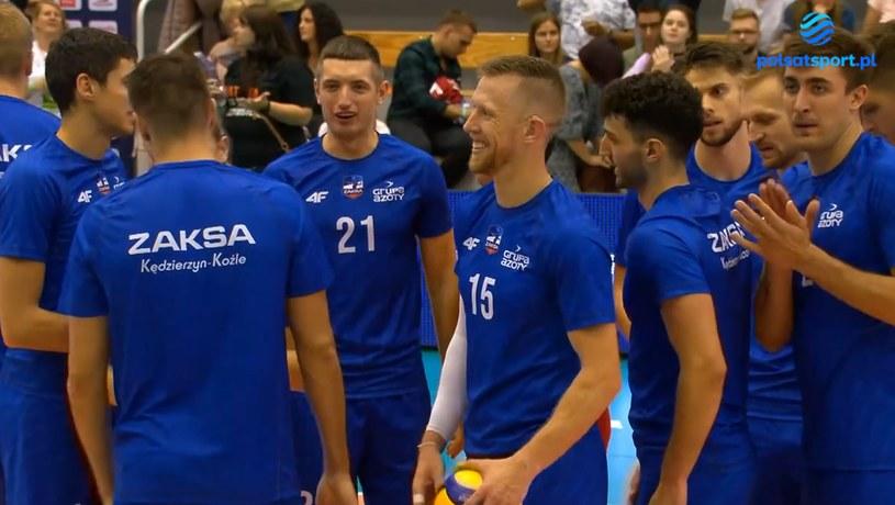 Siatkarze ZAKS-y Kędzierzyn-Koźle /Polsat Sport