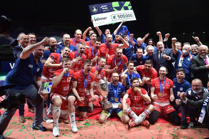 Siatkarze ZAKS-y odnieśli największy sukces w historii klubu /www.cev.eu