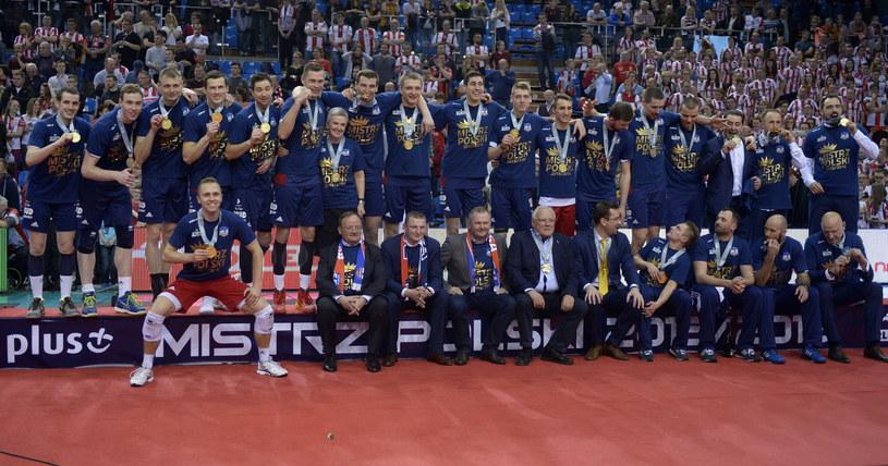 Siatkarze ZAKS-y zostali mistrzami Polski /Darek Delmanowicz /PAP