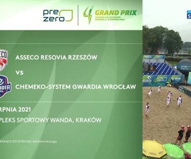 Siatkówka. Asseco Resovia – Chemeko-System Gwardia Wrocław 2:0. Skrót meczu (POLSAT SPORT). Wideo