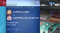 Siatkówka. Cuprum Lubin - Indykpol AZS Olsztyn 0-3 - skrót (POLSAT SPORT). WIDEO