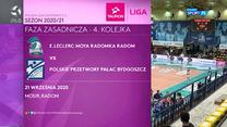 Siatkówka. E.Leclerc Moya Radomka Radom – Polskie Przetwory Pałac Bydgoszcz 3-0 - skrót (POLSAT SPORT). WIDEO