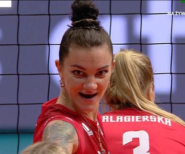 Siatkówka: Emocjonująca końcówka w meczu: Polska-Bułgaria (POLSAT SPORT) Wideo