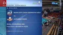 Siatkówka. Grupa Azoty ZAKSA Kędzierzyn-Koźle - Jastrzębski Węgiel 3-1 - skrót (POLSAT SPORT). WIDEO