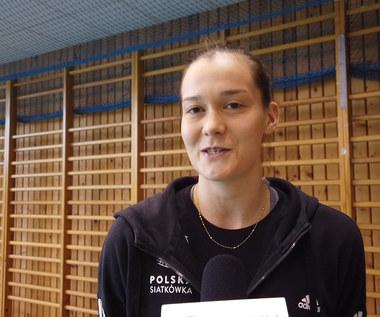 Siatkówka. Julia Twardowska przed meczami sparingowymi. Wideo