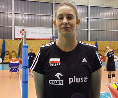 Siatkówka. Magda Stysiak: Każda pragnie tej siatkówki. Wideo