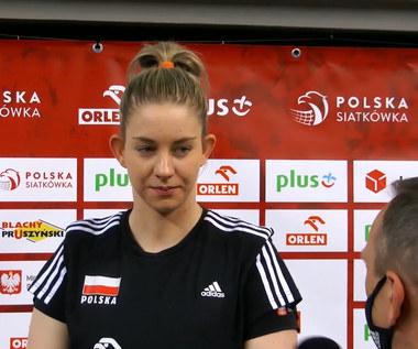 Siatkówka. Magdalena Stysiak: Będziemy chciały pokazać dobrą siatkówkę. Wideo