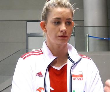 Siatkówka. Magdalena Stysiak po meczu z Czechami (3:2). Wideo