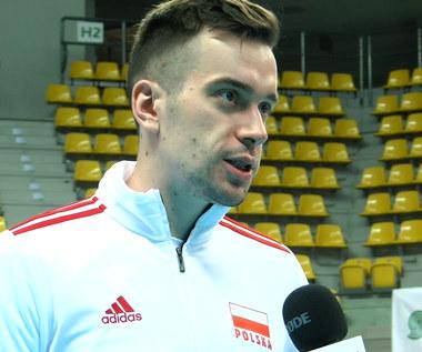 Siatkówka. Marcin Komenda: Cieszę się, że mogłem wrócić do rytmu meczowego. Wideo