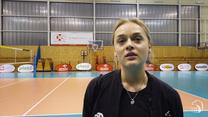 Siatkówka. Maria Stenzel: Pierwsze odbicia był ciężkie. Wideo