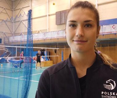 Siatkówka. Paulina Damaske: Chciałabym dokończyć sezon młodzieżowy. Wideo