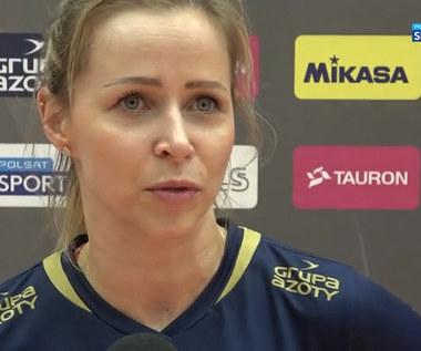 Siatkówka. Paulina Maj-Ewardt: Jeżeli mamy zdobyć Puchar Polski, musimy wygrać z wszystkimi (POLSAT SPORT). Wideo