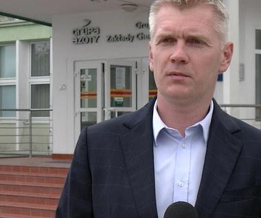 Siatkówka. Paweł Zagumny po wręczeniu medali mistrzyniom Polski. Wideo