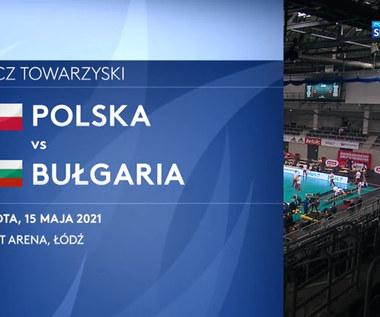 Siatkówka. Polska - Bułgaria 3:1. Skrót meczu towarzyskiego (POLSAT SPORT). Wideo