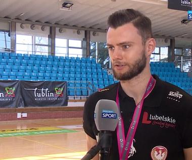 Siatkówka. Szymon Romać: Na każdy trening przychodziliśmy ze świadomością, że walczymy o awans (POLSAT SPORT). Wideo
