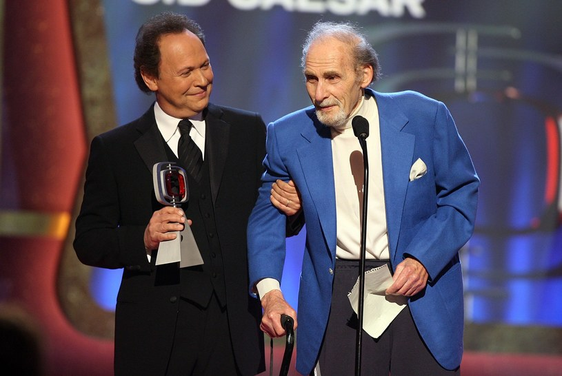 Sid Caesar i Billy Crystal /Kevin Winter /Getty Images